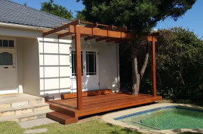 Balau Pergola and Deck in Claremont