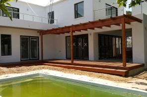 Balau deck and Pergola in Durbanville2